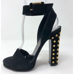 • Gucci • Madison Studded Open-Toe Heels